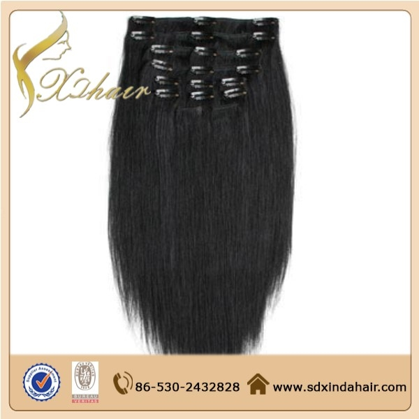 Cheap 100 Human Hair 100g 200 Grams Clip In Hair Extensions Full