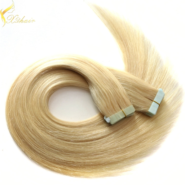 Double Weft Full Cuticle Wholesale European Double Drawn Sticker