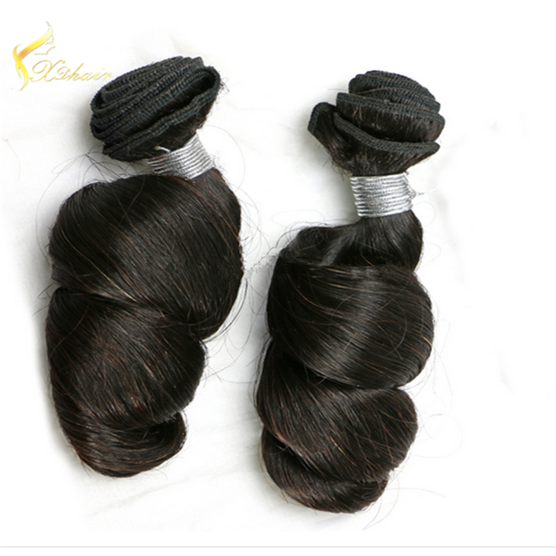 Factory Price Top Quality Virgin Brazilian Human Hair 8A Grade Loose Wave Hair Weaving