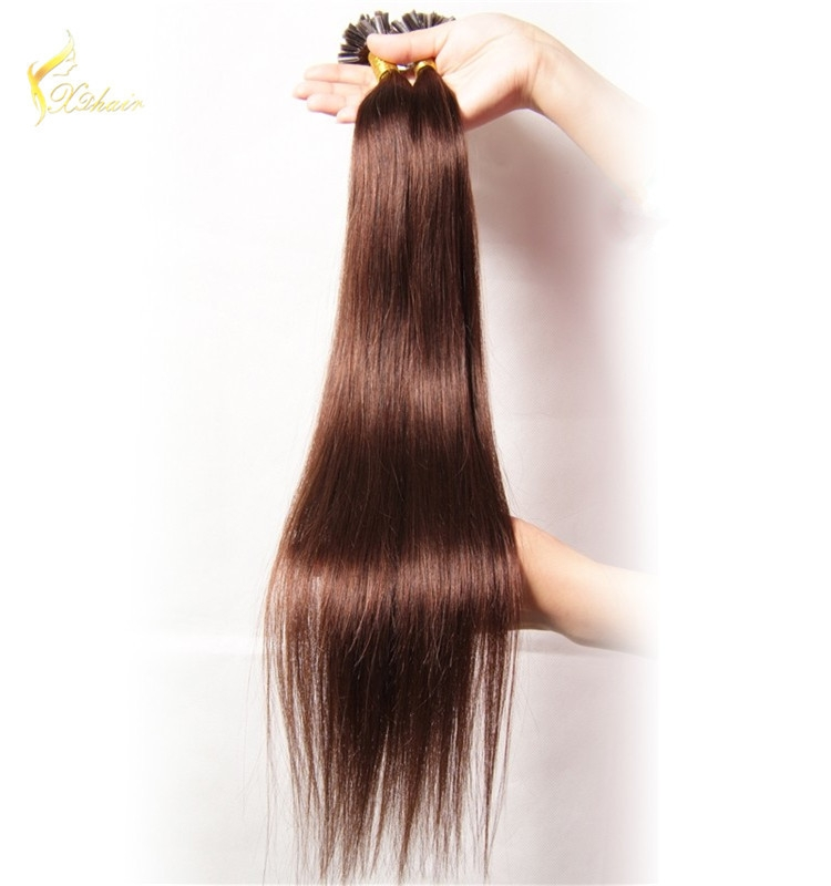 Factory Cheapest Price Wholesale Double Drawn U Tip Hair Extension