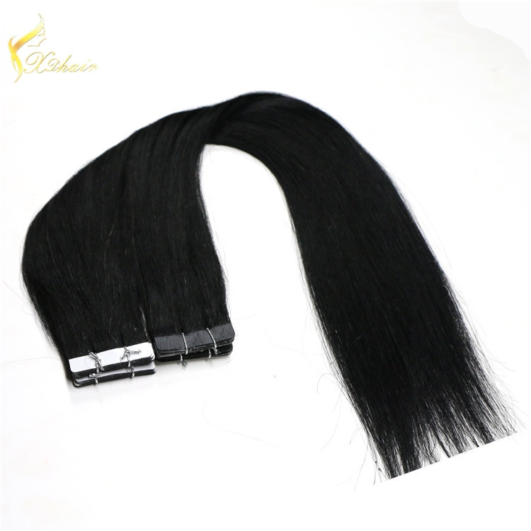Full Cuticle Tape In Hair Extensions Best Quality Blonde Tape Extensions
