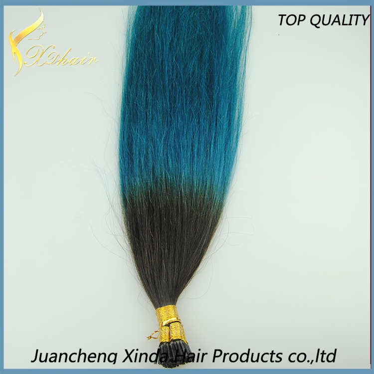 Hair Factory With The Unprocessed Virgin Remy Ombre I Tip Hair