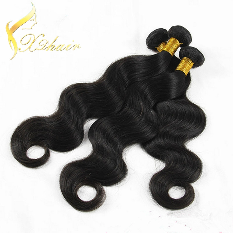 High Quality Brazilian Body Wave Human Hair Weave1b#  1 Bundle 20
