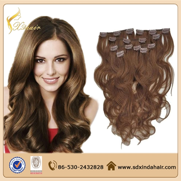 Hot Sale Clip In Hair Extension 10 30inch Free Sample 100 Real