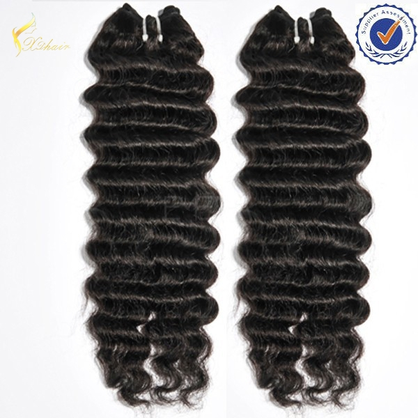 Human Hair Weaves Different Types Of Expression Curly Weave Hair For