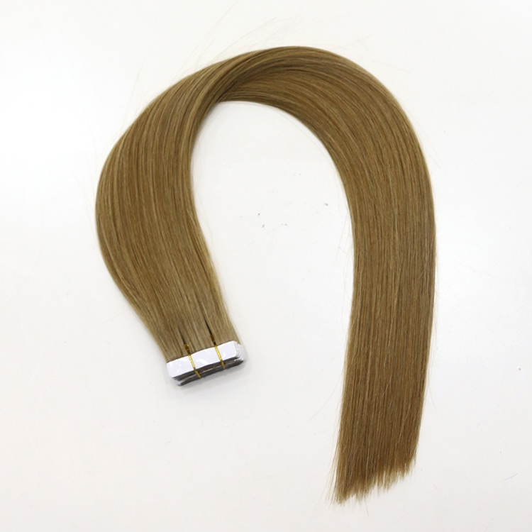 In stock fashion hot sale grade 8A tape hair extensions
