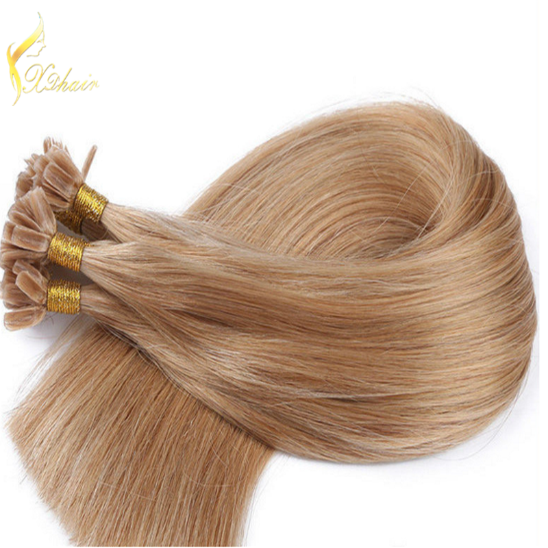 Juancheng factory top quality italian bonds 0.9g 1g strand i tip hair extensions wholesale