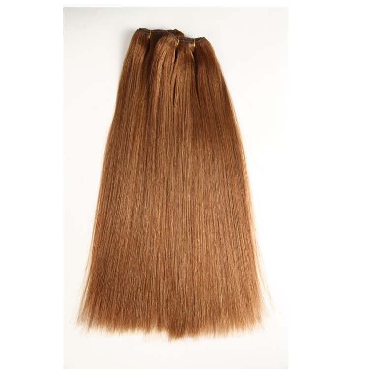 Large Factory Price Thick Ends 100g 120g 150g Remy Human Hair Doubles drawn blonde hair weft