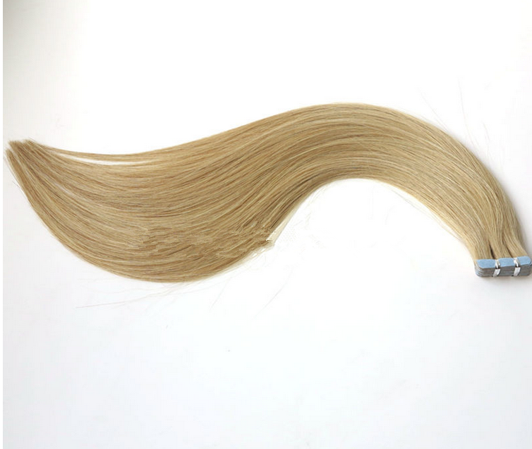 Large Stock Top Quality Virgin Hair 100% Remy Human Double Drawn invisible Tape Hair Extensions
