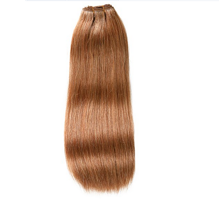 Machine Weft Double Drawn Unprocessed Virgin Brazilian Hair