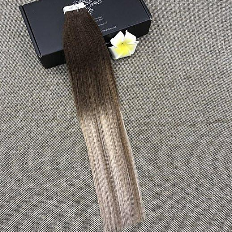 Tape Hair Extention 100 human hair top quality ramy hair