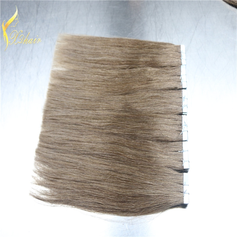 Wholesale 8-30 inch Remy Brazilian Human hair Skin Weft Tape Hair Extension
