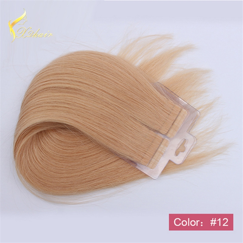 Xinda Hair 8a Grade High Quality Two tone Ombre Double Side Tape Hair Wefts