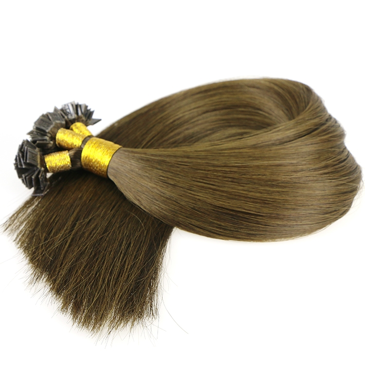alibaba best seller first rate virgin brazilian indian remy human hair seamless flat tip hair extension