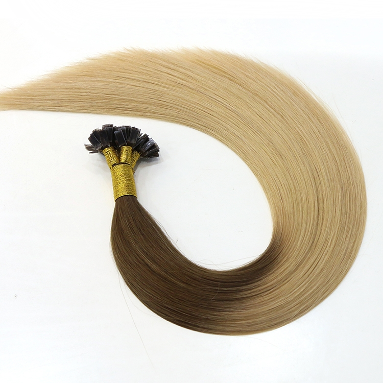 alibaba express china free shipping wholesale 100% virgin brazilian indian remy human hair flat tip hair extension