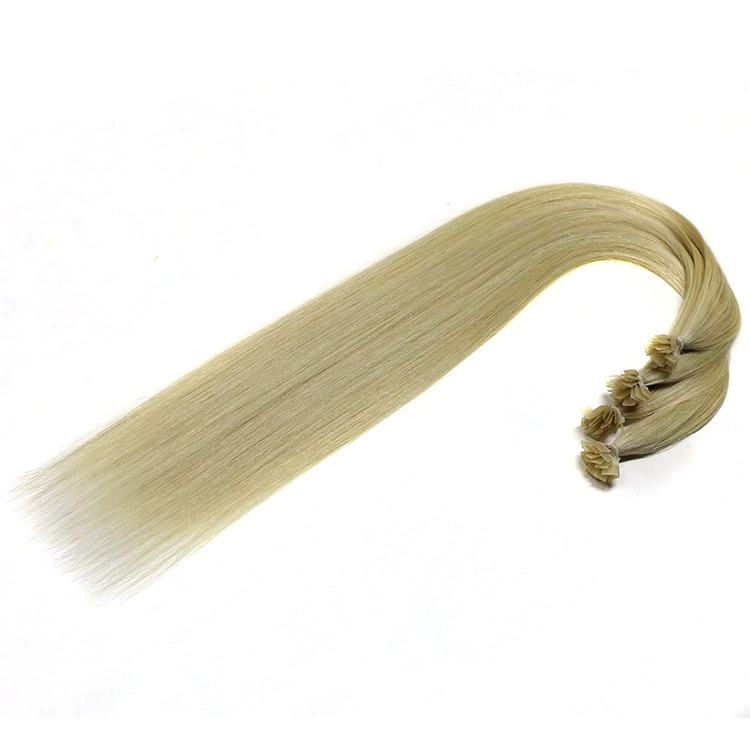 alibaba express wholesale peruvian 100% virgin brazilian indian remy human hair flat tip hair extension