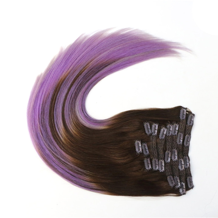 aliexpress china best selling products 100% virgin brazilian indian remy human hair clip in hair extension