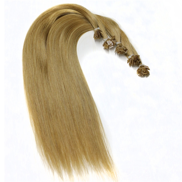 aliexpress china free shipping wholesale 100% virgin brazilian indian remy human hair flat tip hair extension