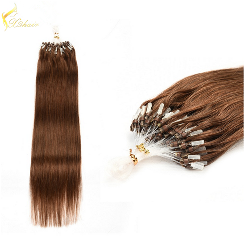 China Supply High Quality Low Price 100 Brazilian Remy Hair Micro