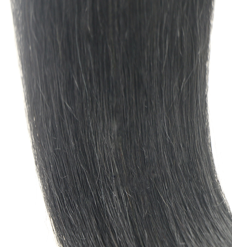 dropshipping wholesale price 1# black virgin brazilian remy human hair nano link ring hair extension