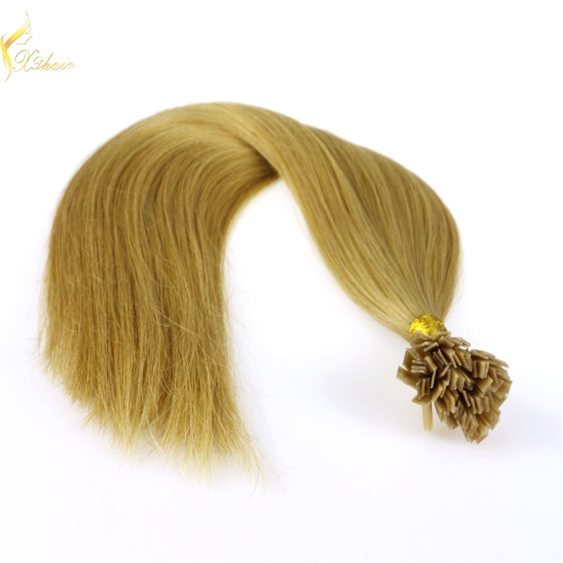 grade 8a double drawn free shedding no tangle straight flat tip hair extension malaysian virgin remy hair bundles