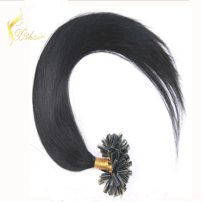 hot selling human hair products top quality stick tip/nail tip hair extension darling hair