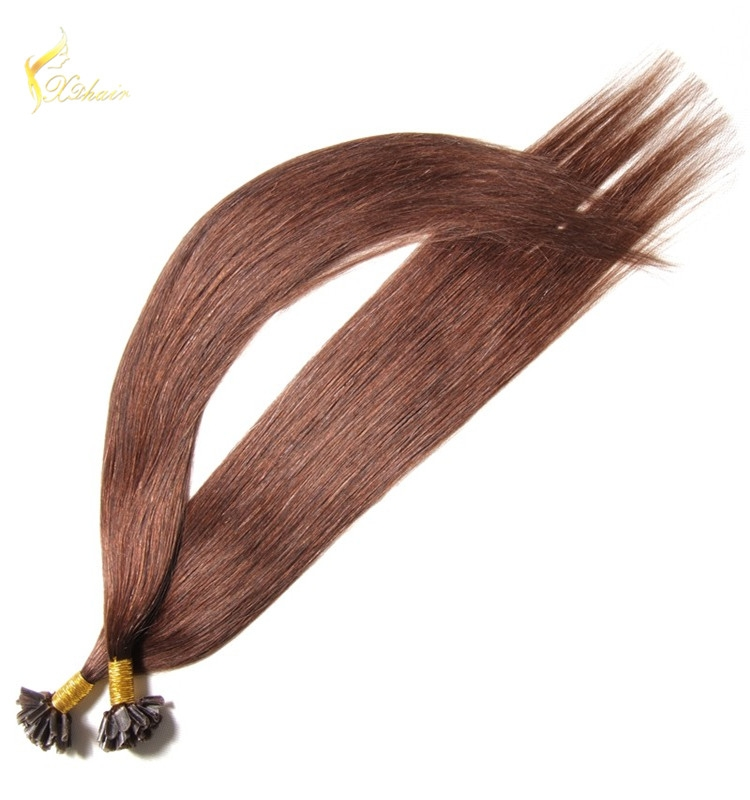 pre-bonded hair ombre color remy 1g stick itip utip vtip nano hair extensions