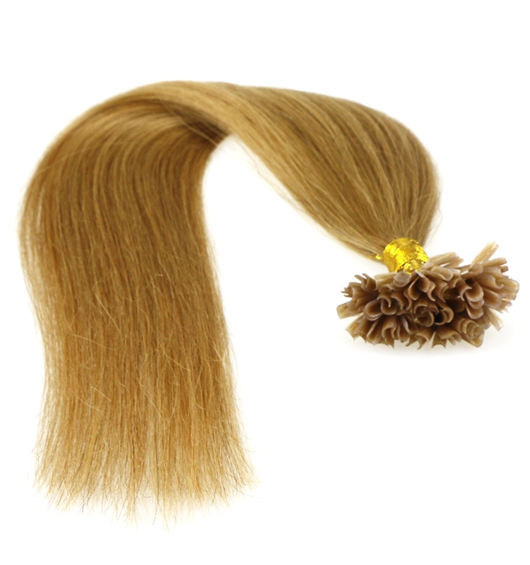 very cheap hair extensions grade 8a 1g/0.8g/0.6g/strand virgin brazilian remy human hair U nail tip hair extension