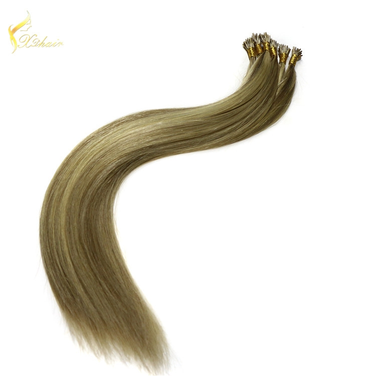 virgin brazilian human hair i tip wavy hair extension wholesale