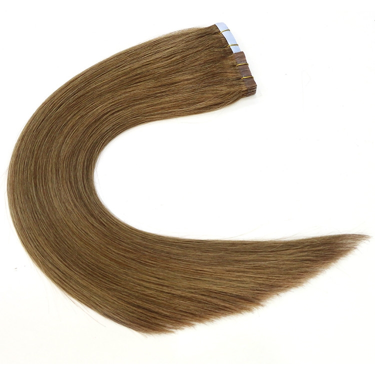 wholesale price thick ends virgin brazilian indian remy human PU tape hair extension